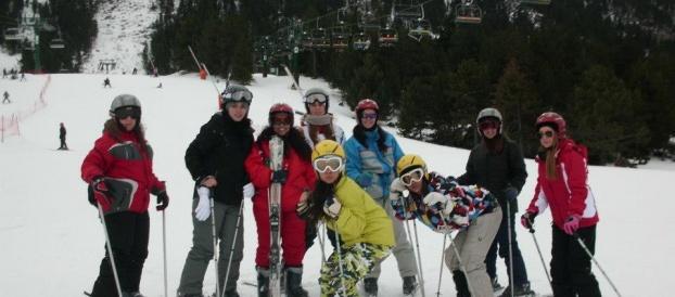 Esquiada a La Molina.