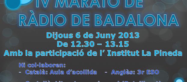 IV Marató de Ràdio de Badalona