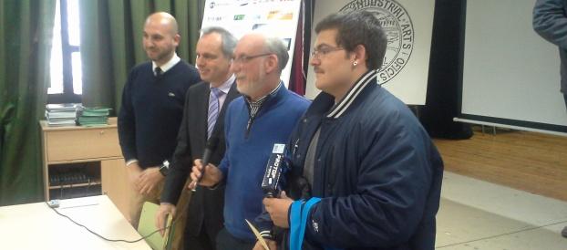 L'alumne de fusta Álex Martínez García-Vacas guanya un 3r premi.