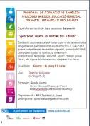 AMPA La Pineda: Programa de Formació de Famílies