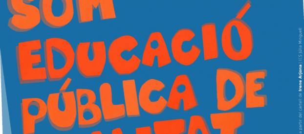 VI Diada de l'Ensenyament públic a Badalona