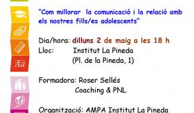 AMPA: COM MILLORAR LA COMUNICACIÓ I LA RELACIÓ AMB ELS NOSTRES FILLS