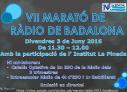 VII MARATÓ DE RÀDIO a Badalona.