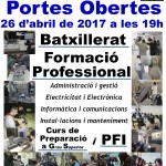 Portes Obertes postobligatoria 2017