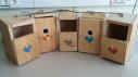 Caixes niu. Projecte mediambiental al jardí de La Pineda