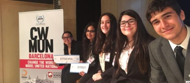 Participació al CWMUN (Change World Model United Nations) 2017 Barcelona