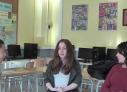 La Tyffany i la Jazmin entrevisten la nostra auxiliar de conversa Nicola