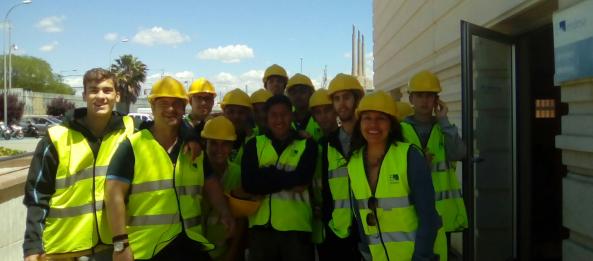 Visites dels alumnes de GM d'Electricitat