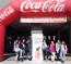 Estudiantes de 2º de ESO del INS La Pineda  en el Concurso literario de Coca-Cola