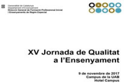 L'Institut La Pineda a la XV Jornada de Qualitat a l'Ensenyament
