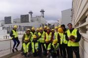 Visita tècnica a la central elèctrica de cicle combinat (Endesa)