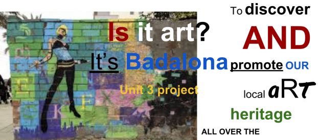 Is it art? it is Badalona