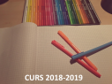 Informacions inici curs 2018-19