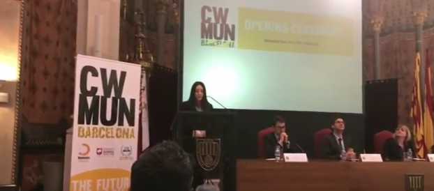 CWMUN Barcelona 2018 Opening Speech Berta Alsinet