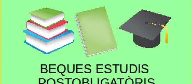 Beques per a estudis postobligatòris