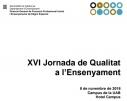 L'Institut La Pineda a la XVI Jornada de Qualitat a l'Ensenyament