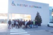 """<span lang =""""ca"""">Alumnes dels cicles GM i GS d&#8217; Elèctrics visiten les intal·lacions de la fundació GUTTMANN, a Can Ruti</span>"""