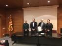 Signatura Conveni Departament d'Ensenyament – FEGICAT