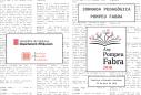 Jornada Pedagògica Pompeu Fabra