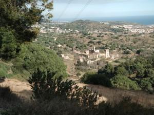 Camí cap a Sant Jeroni de la Murtra