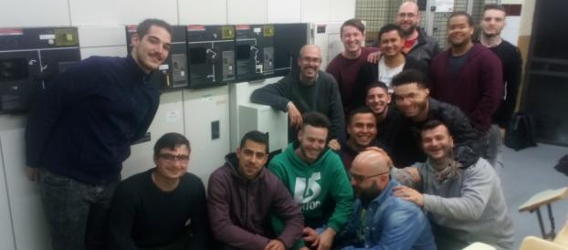 Visita de 2n de GS de Sistemes Electrònics i Automatitzats
