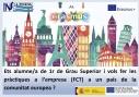 Vols fer les pràctiques a l'empresa a un país de la comunitat europea ?