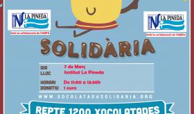 TACA'T PEL CÀNCER INFANTIL XOCOLATADA SOLIDÀRIA A L'INSTITUT LA PINEDA