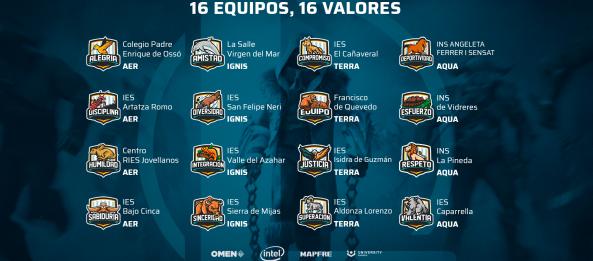 Excepcional participació a la 4a temporada de la lliga nacional IESports