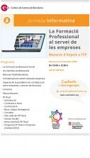 Jornada: La Formació Professional al servei de les empreses