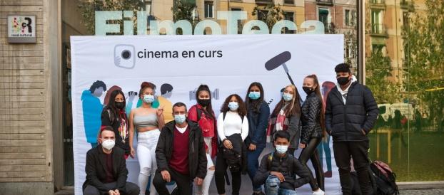 Presentació de «Volver a empezar» a la Filmoteca de Catalunya!