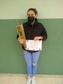 Iria Jerónimo, guanyadora del concurs #elmenjarnoesllença