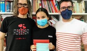 Naomi Olmo s'ha proclamat guanyadora del Certamen de Lectura en Veu Alta
